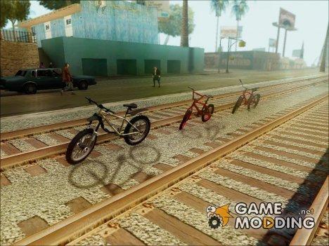 Пак вело из других игр v.2 для GTA San Andreas