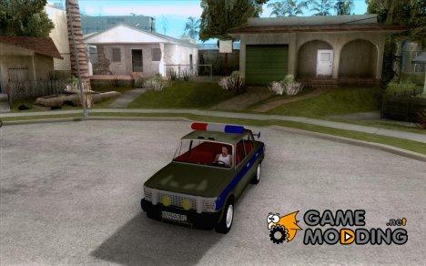 ВАЗ 2101 Милиция for GTA San Andreas