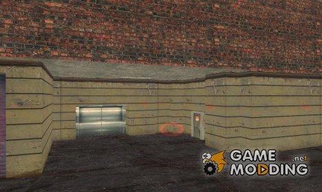 Новые текстуры убежища в Staunton Island для GTA 3