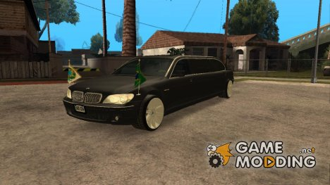 BMW E66-7 Series Limousine from Brazil для GTA San Andreas