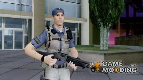 COD AW Jon Bernthal Security Guard для GTA San Andreas
