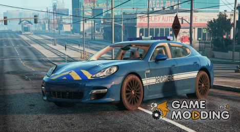 Porsche Panamera French Gendarmerie (BRI) V. 1.1 for GTA 5
