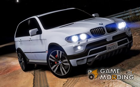 BMW X5 E53 2005 Sport Package 1.1 для GTA 5