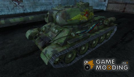 Т-34-85 LeoN47AK for World of Tanks