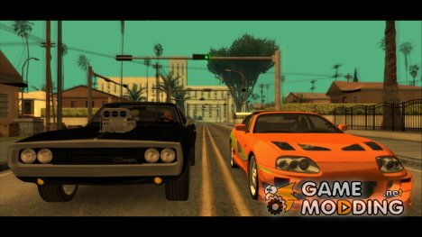 "HD Cars from ""The Fast And The Furious"" 0.1 для GTA San Andreas"