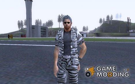 Крис в костюме Сафари for GTA San Andreas