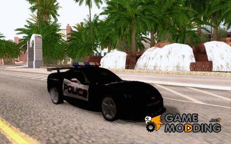 Chevrolet Corvette new skin for GTA San Andreas