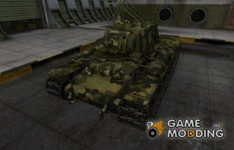 Скин для Т-150 с камуфляжем для World of Tanks