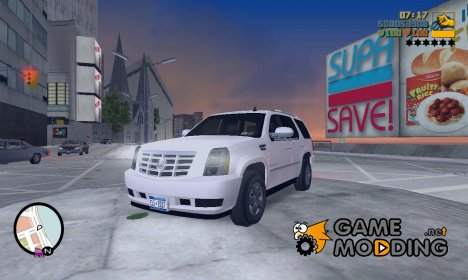 Cadillac Escalade 2007 for GTA 3