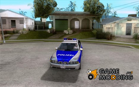 BMW 525i Touring Police for GTA San Andreas
