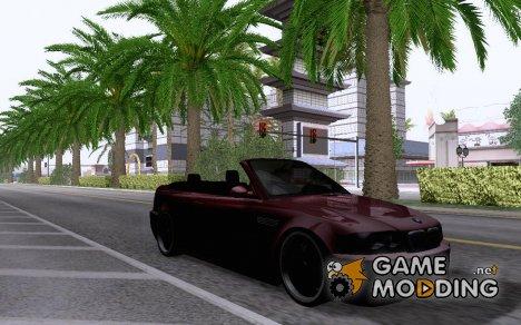 BMW M3 E46 Cabrio for GTA San Andreas