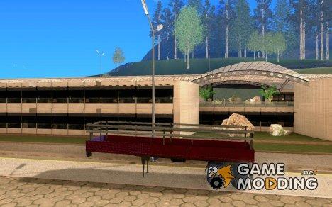 Прицеп для КамАЗа 5410 for GTA San Andreas