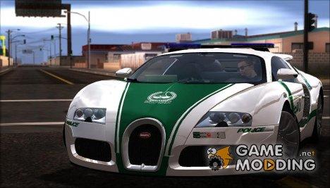 2009 Bugatti Veyron 16.4 Dubai Police for GTA San Andreas