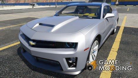 2012 Chevrolet Camaro ZL1 для GTA 5