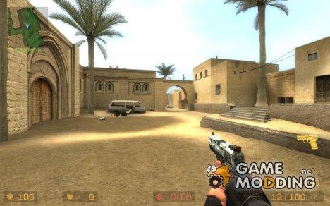 AMAkip's Winter Camo USP for Counter-Strike Source