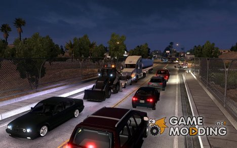 Traffic AI Mod для Euro Truck Simulator 2