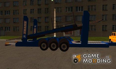 Прицеп для Daf CF автовоз для GTA San Andreas
