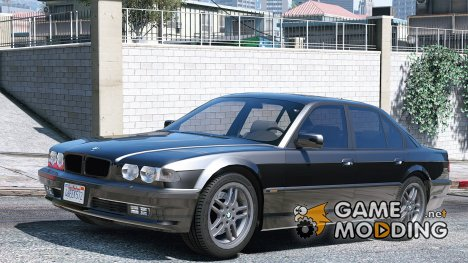 BMW 740i E38 Shadow Line 1.0 для GTA 5