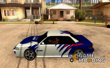 Винил для Sultan - NFSMW B15 for GTA San Andreas