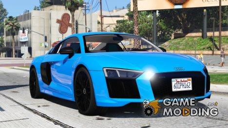 2017 Audi R8 1.0 for GTA 5