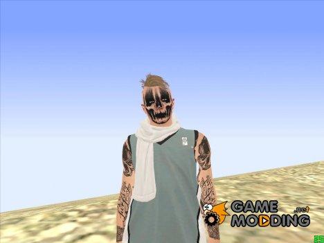 Парень в гримме GTA Online for GTA San Andreas