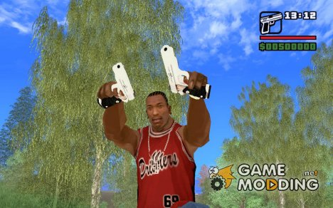 Пистолет Хитмэна для GTA San Andreas