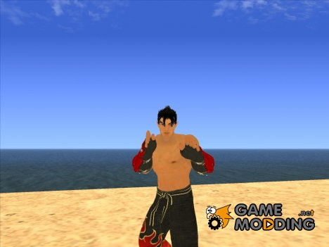 Jin Kazama Tekken 6 for GTA San Andreas