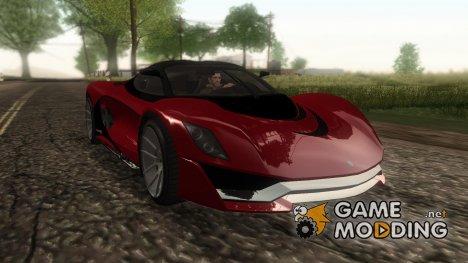 GTA V Grotti Turismo R v2 for GTA San Andreas