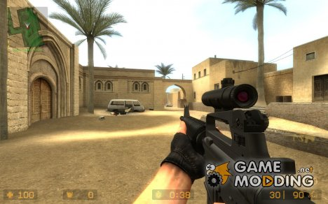 Colt M16 (AUG) для Counter-Strike Source
