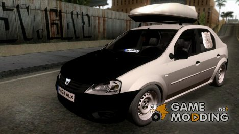 Dacia Logan 2009 Civilian Tuning для GTA San Andreas