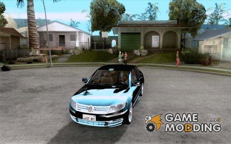 Volkswagen Phaeton W12 для GTA San Andreas