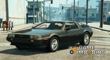 Delorean Dmc12 (1982) V2 for GTA 5