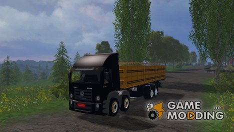 Volkswagen constellation 24-250 graneleira для Farming Simulator 2015