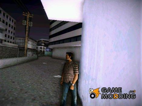 Клетчатая рубашка и джинсы для GTA Vice City