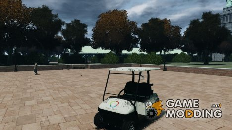 Golf Car - New Logo for GTA 4