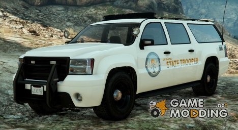 Los Santos State Trooper SUV Arjent for GTA 5