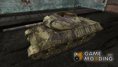 шкурка для M10 Wolverine №13 for World of Tanks