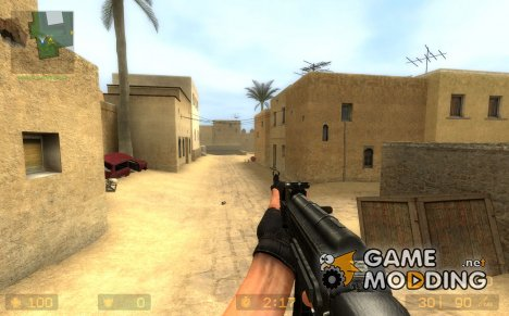 Battlefield 3 AK-74M imitation для Counter-Strike Source