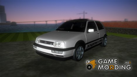 Volkswagen Golf 3 ABT VR6 Turbo Syncro for GTA Vice City
