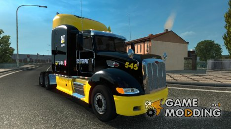 Peterbilt 386 update for Euro Truck Simulator 2