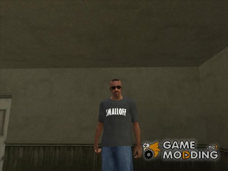 Футболка SMALLOFF for GTA San Andreas