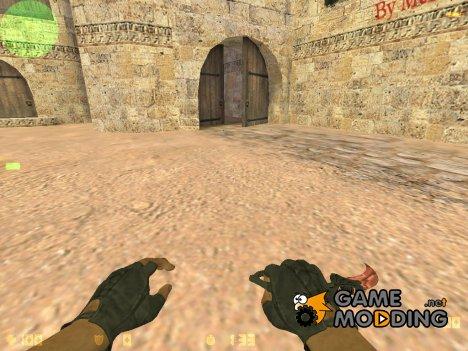 Нож керамбит for Counter-Strike 1.6