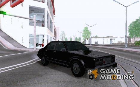 Romans Taxi GTAIV for GTA San Andreas