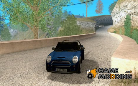 Mini Cooper S Cabrio for GTA San Andreas