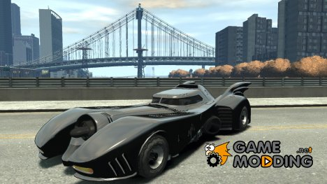 Batmobile Final for GTA 4
