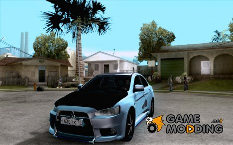 Mitsubishi Lancer Evolution Drift для GTA San Andreas