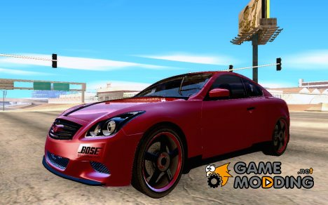 Infinity G37 for GTA San Andreas