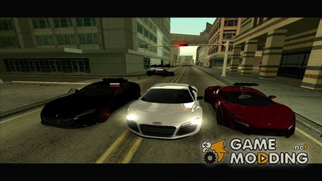 Fast And Furious 7 Pack для GTA San Andreas