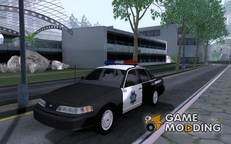 1992 Ford Crown Victoria SFPD для GTA San Andreas