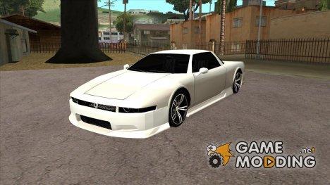 Infernus BMW Revolution Без спойлера и без номерного знака for GTA San Andreas